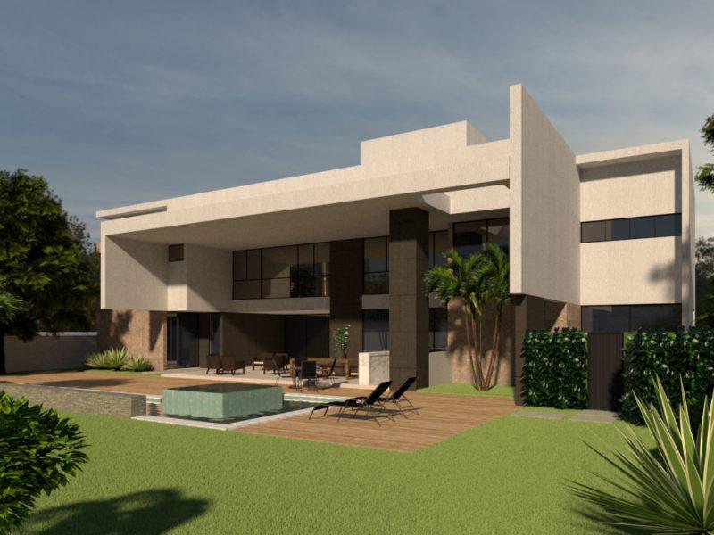 Maquete Casa MJ